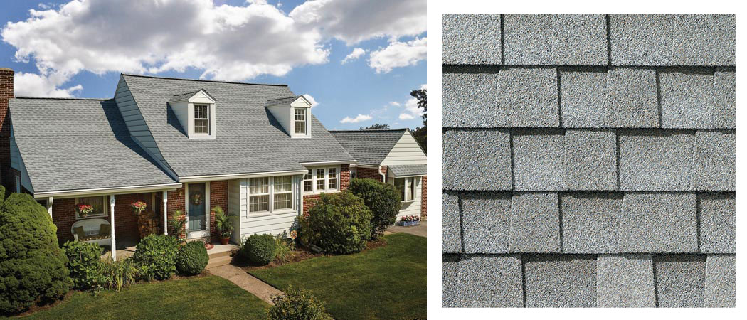 shingle roofing options FOX HOLLOW GREY