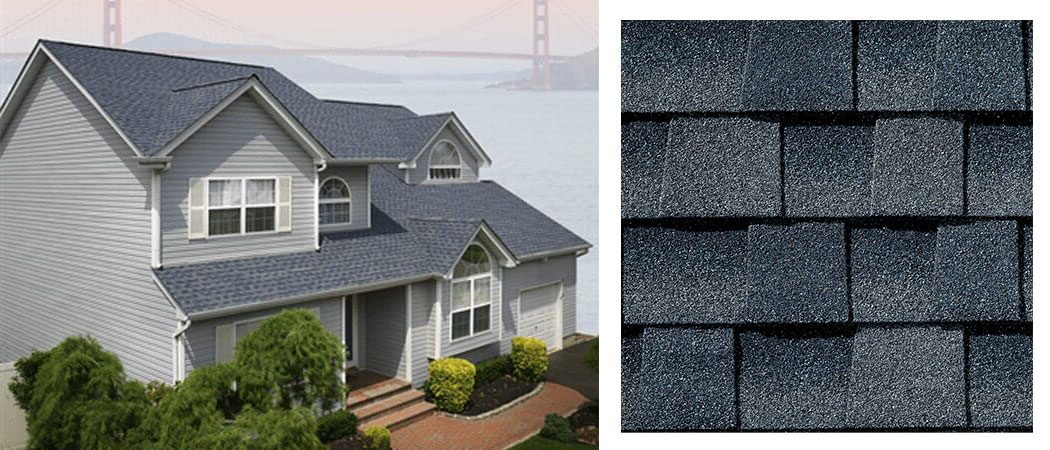 shingle roofing options BISCAYNE BLUE
