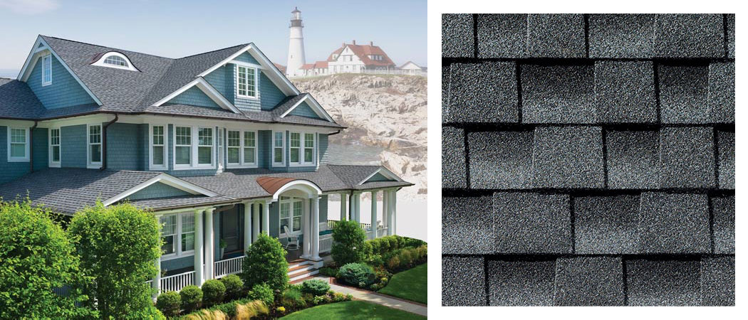 shingle roofing options PEWTER GREY