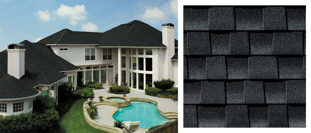 shingle roofing options CHARCOAL